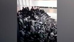 Kudüs'te sinagog ayininde tribün çöktü