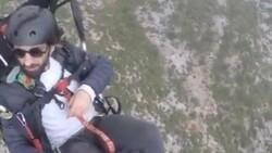 Gürle Dağı'nda atlayış yaptıktan sonra kaybolan amatör paraşütçünün cansız bedeni bulundu
