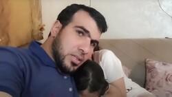 Gazze'de çocukları korkmasın diye çaba gösteren baba hava saldırısında hayatını kaybetti