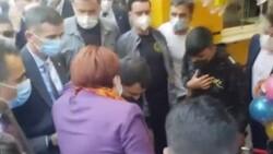 Akşener'i sevgi gösterisinde bulunan kişi torbacı çıktı