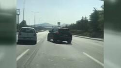 Ankara trafiğinde tehlikeli tartışma