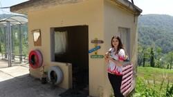 Zonguldak'ta üniversite öğrencisi sokak hayvanları için kulübe yaptı