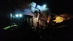 Bolu'da soba benzinle yakılınca 2 katlı ahşap evi küle döndü