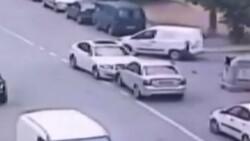 İstanbul'da çalıntı otomobille kaza yapıp kaçtı