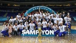Cumhurbaşkanı Erdoğan'dan, şampiyon Anadolu Efes'e tebrik