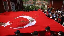 Muharrem Kasapoğlu, Atatürk ve İstiklal Yolu yürüyüşüne katıldı