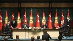 Cumhurbaşkanı Erdoğan: Kırgızistan'la ticaret hacmindeki hedefimiz 1 milyar dolar