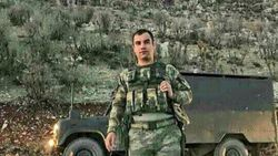 Şırnak'ta şehit olan uzman çavuş, Hatay'da son yolculuğuna uğurlandı