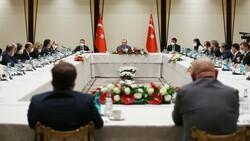 Cumhurbaşkanı Erdoğan'dan akademisyenlerle müsilaj toplantısı