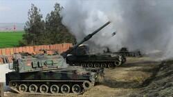 TSK, Tel Rıfat'ta teröristlere ait hedefleri vurdu