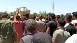 Afrin'de terör saldırısıyla hayatını kaybeden 13 sivil toprağa verildi