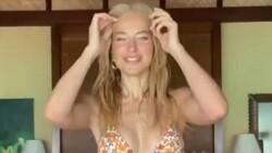 Burcu Esmersoy'dan bikinili dans videosu