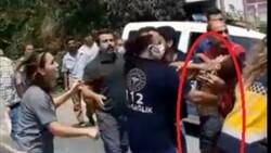 Mersin'de servis şoförü suya düşen çocuğu kurtardı