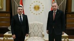 Cumhurbaşkanı Erdoğan, Sayıştay Başkanı Seyit Ahmet Baş ile görüştü