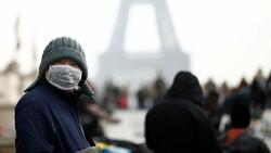 Fransa'da son 24 saatte 2 bin 320 yeni vaka