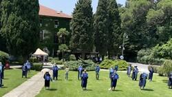 Boğaziçi Üniversitesi'nde akademisyenlerin eylemi sürüyor
