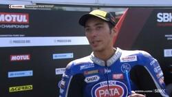 Toprak Razgatlıoğlu ilk yarışta 1. oldu