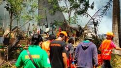Filipinler'deki askeri uçak kazasında ölü sayısı 45'e yükseldi