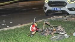 Antalya'da otomobil ile elektrikli bisiklet çarpıştı: 2 ölü