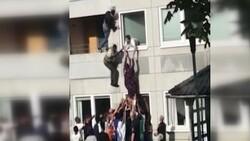 İsveç'te komşusunu yangından kurtardı, 'kahraman' ilan edildi