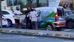 Sultangazi'de yol verme kavgası: Kazma ile saldırdı