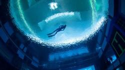 Dubai'de dünyanın en derin havuzu açıldı