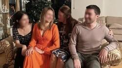 Cem Garipoğlu'nun ailesi, Münevver Karabulut'un kanının olduğu koltukta poz verdi