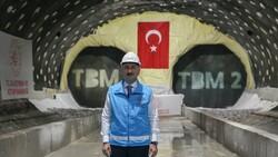 Halkalı-İstanbul Havalimanı metrosunun inşaatı sürüyor