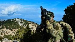 Zap bölgesinde 4 terörist öldürüldü