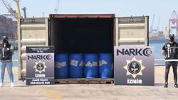 Çin'den gelen konteynerde 26 ton kimyasal madde yakalandı