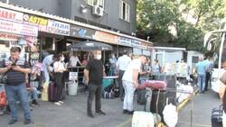 İstanbul'da bayram öncesi otogarlarda ek sefer yoğunluğu