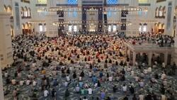 İstanbul'un camilerinde Kurban Bayramı coşkusu