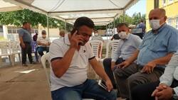 Abdulhamit Gül, Azra Gülendam'ın babasıyla görüştü