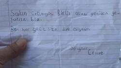 Fahrettin Altun, destek kolisinden çıkan minik Cemre'nin notunu paylaştı