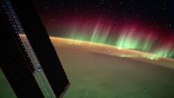 Hint Okyanusu'ndaki Kuzey Işıkları, uzaydan görüntülendi