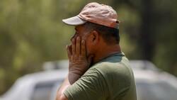 Manavgat'ta alevlerin ortasında kalan orman işçisinin anonsu