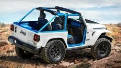 Jeep'in ilk tamamen elektrikli modeli 2023'te yollarda