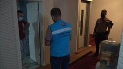 Kırıkkale'de otele ve koronalı müşteriye ceza