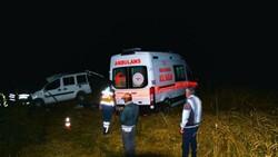 Sivas'ta düğün dönüşü kaza: 1 ölü
