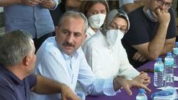 Abdulhamit Gül: Yanan alanlara tek bir çivi çakılmasına izin vermeyeceğiz