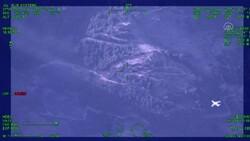 Milas'ta yangın söndürme uçağının müdahale anı