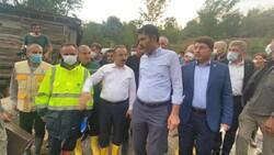 Murat Kurum, sel felaketinin yaşandığı Bartın'da