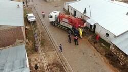 Kayseri'de 50 haneli mahalleyi sel bastı