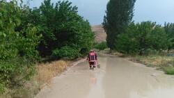 Malatya'da sel nedeniyle kapanan yol ulaşıma açıldı