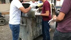 Bursa'da çöp konteynerinden 28 kilo bonzai çıktı