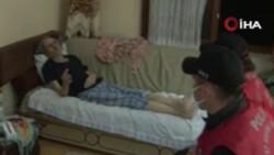 Kastamonu'da, polisten yaşlı çifte yardım eli