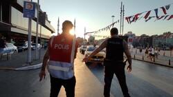 Taksim'de asayiş uygulaması yapıldı