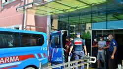 Samsun'da kuzenini ağır yaralayan ve yengesini öldüren zanlı tutuklandı