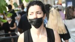 Merve Boluğur maske taktı