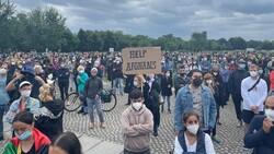 Almanya'da, Afganistan gösterisi: Yerimiz var